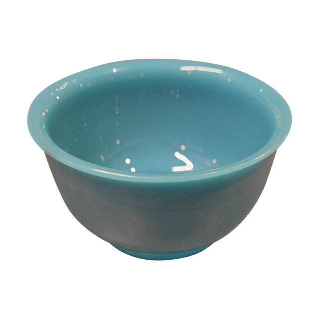 Peking Blue Glass Bowl - Image 1 of 4