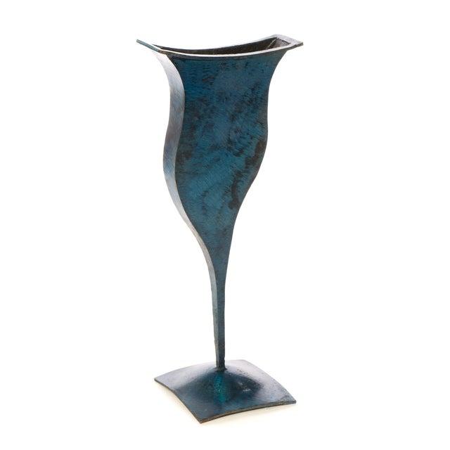 Metal Vases - Pair - Image 4 of 4