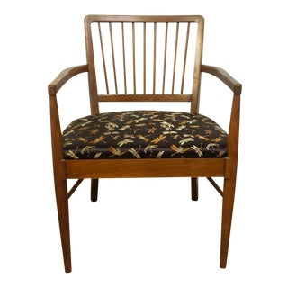Mid-Century Modern Wood Accent Chair