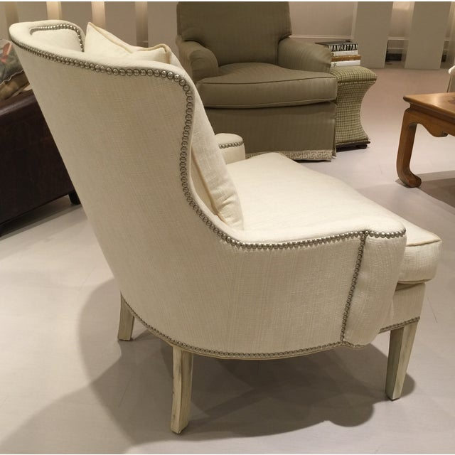 Southwood Transitional Modified Wing Chair - Image 4 of 6