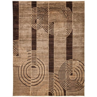 """New Gabbeh Hand Knotted Area Rug - 9'2"""" x 11'10"""""""