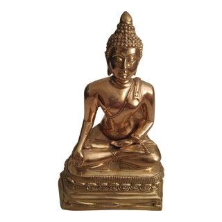 Mid-Century Brass Buddah