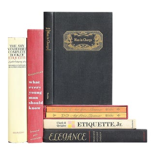 Etiquette Book Selections - Set of 7