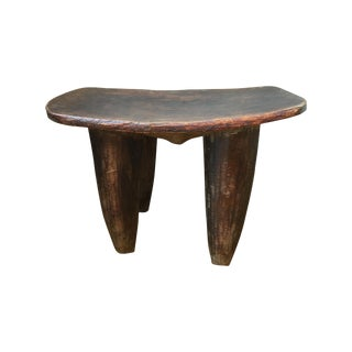 Authentic African Wooden Stool