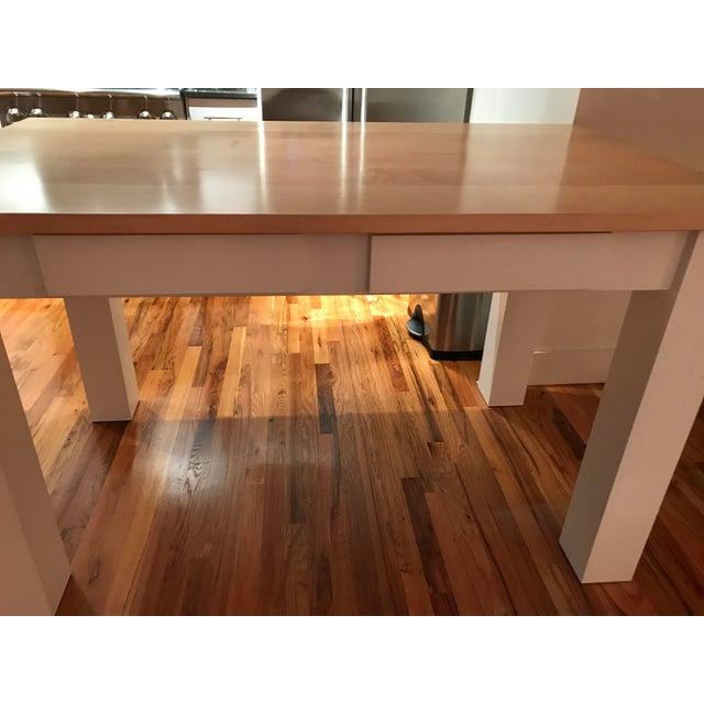Custom Maple Island Table - Image 4 of 7