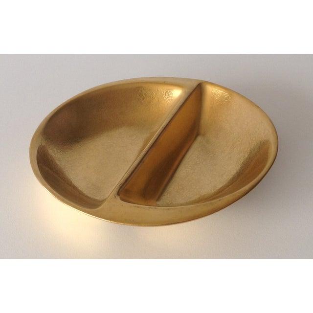 Pickard 24k Gold Divided Floral Motif Dish - Image 3 of 11