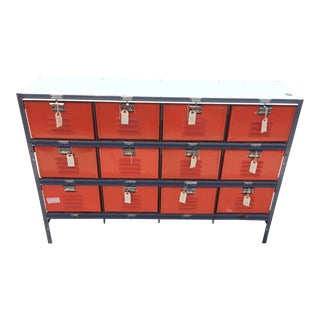 Industrial Metal Storage Dresser