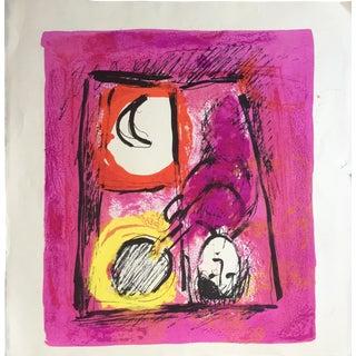 1957 Original Marc Chagall Lithograph