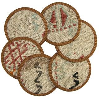 Kilim Arhavi Coasters - Set of 6