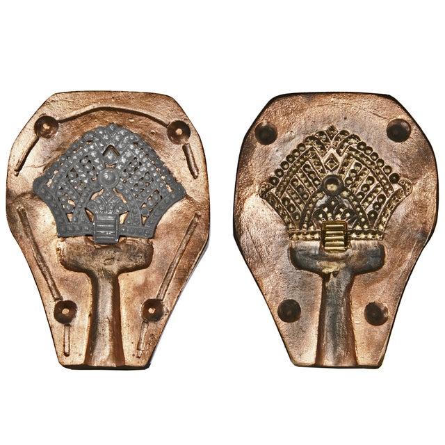 vintage metal alloy jewelry molds chairish