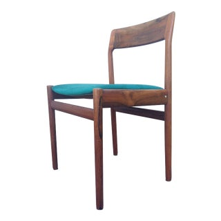 Mid-Century Modern Walnut Side Chair