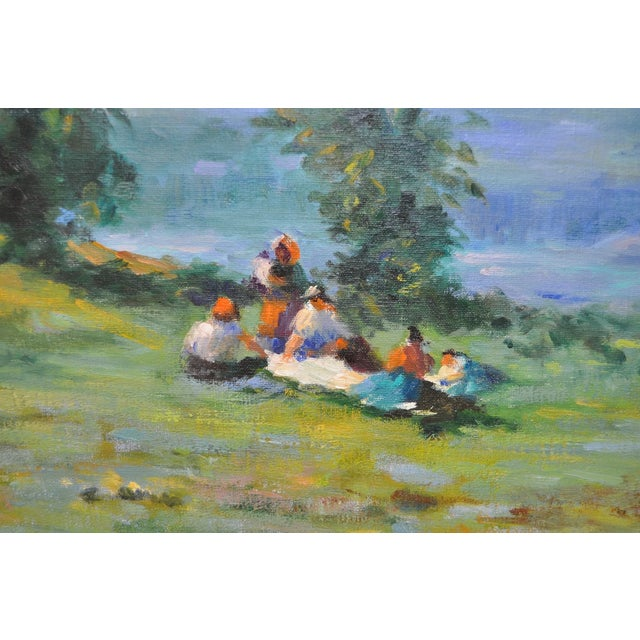 Signed Impressionist Oil Painting - Image 3 of 8