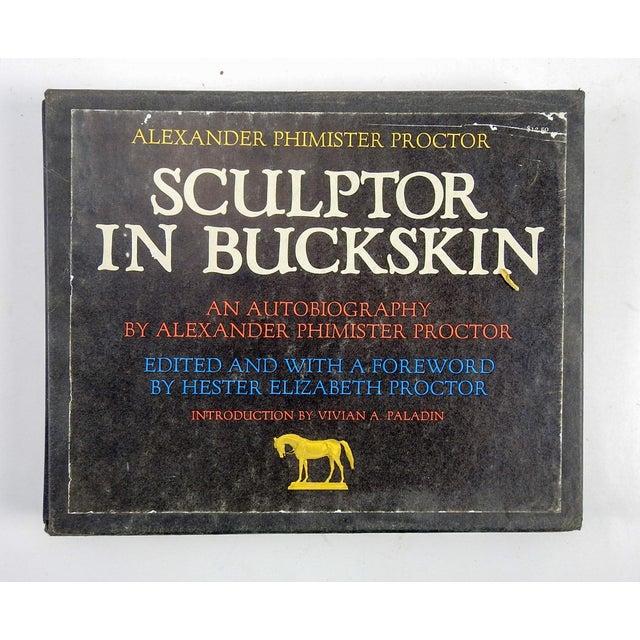 "Alexander P. Proctor ""Sculptor in Buckskin"" 1971 Book - Image 2 of 11"
