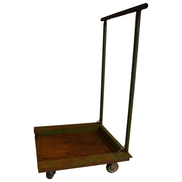 Industrial Fiskars Factory Cart - Image 1 of 8