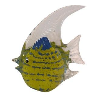 Mid-Century Modern Art Glass Fish