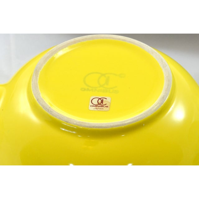Image of 1950s Yellow Ball Teapot