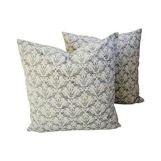 Custom Brunschwig & Fils Imperial Pillows - A Pair