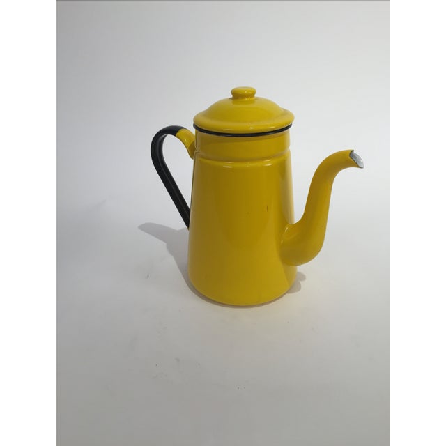Vintage Yellow Tea Pot - Image 4 of 7