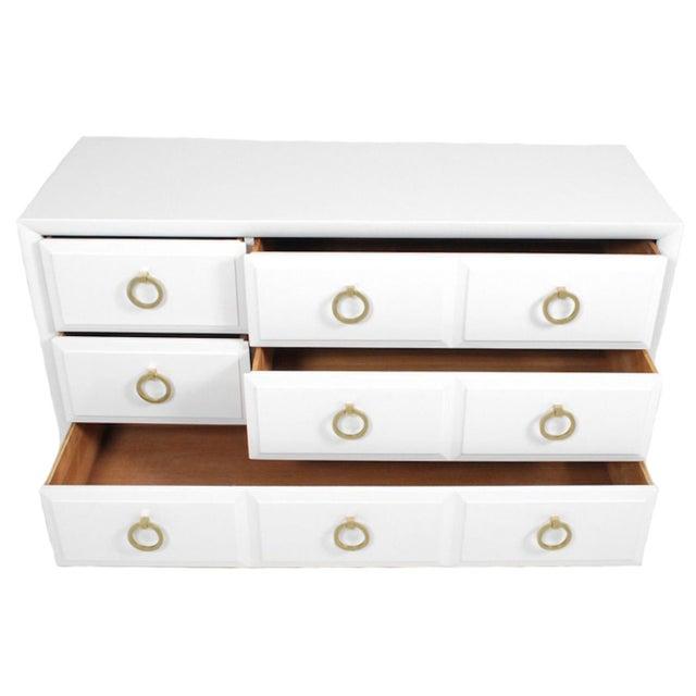 Robsjohn Gibbings Widdicomb White Dresser - Image 3 of 3