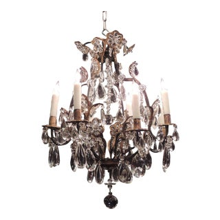 Early 20th C French Maison Bagues-Style Chandelier