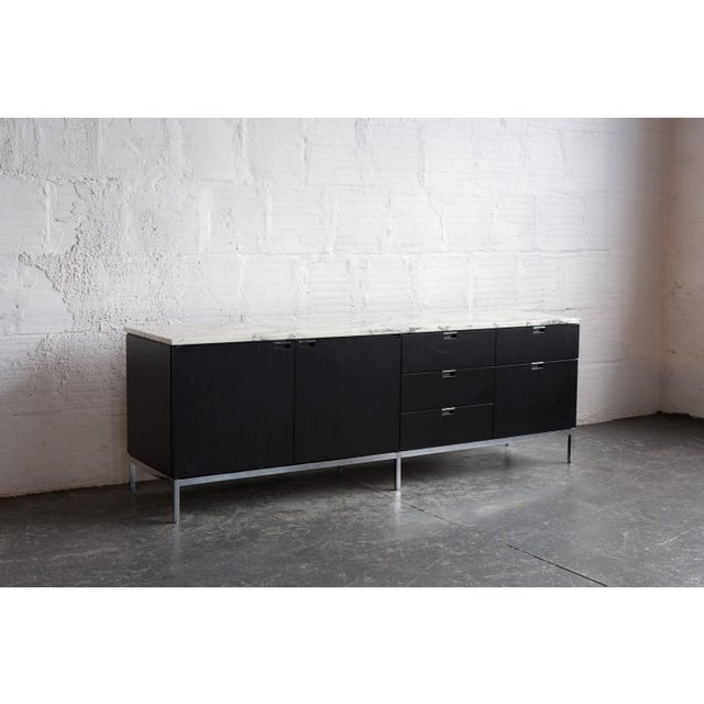 Knoll Marble Top Credenza - Image 4 of 4