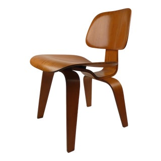 Early Evans Plywood Chair DCW By Charles Eames