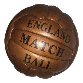 English Soccer Match Leather Ball