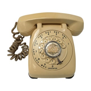 Vintage Classic Ivory Dial Telephone