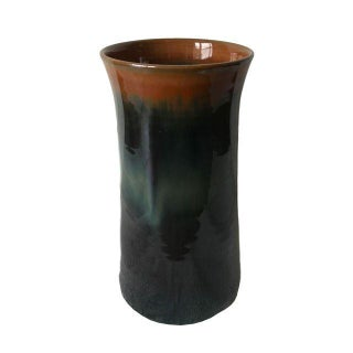 Minimalist Black & Brown Vase