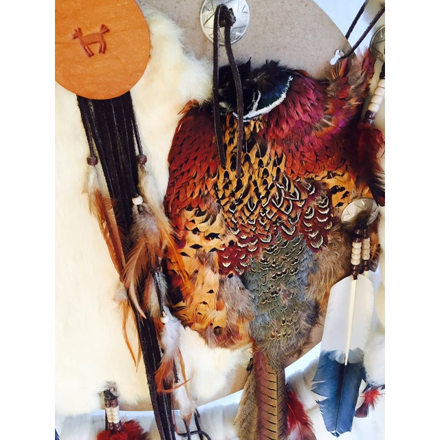 Vintage Native American Dream Catcher - Image 6 of 8