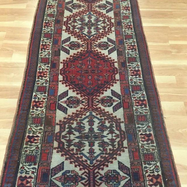 "Vintage Persian Sarab Runner Rug - 2'9"" x 10'7"" - Image 5 of 6"