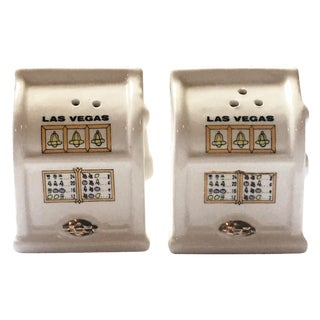 Slot Machine Salt & Pepper Shakers - A Pair