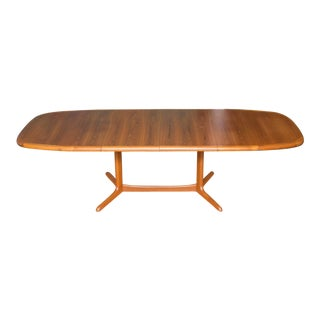 Danish Modern Ansager Mobler Teak Dining Table