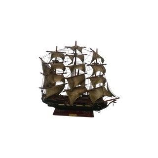 Vintage Tall Ship Model
