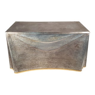 Galvanized Steel Console by John Dickinson