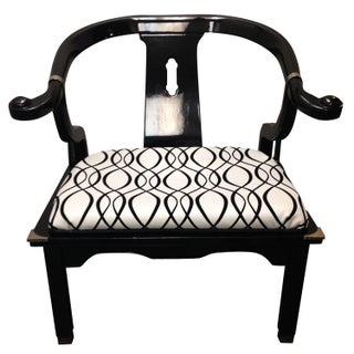 James Mont Style Vintage Ming Chair