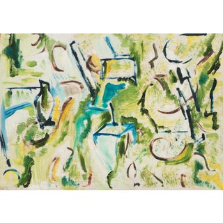 Canyon Abstract by Frances Milton Walker