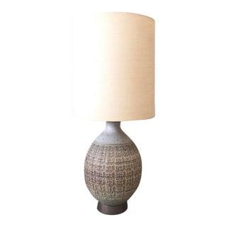 Vintage Mid-Century Bob Kinzie Ceramic Lamp