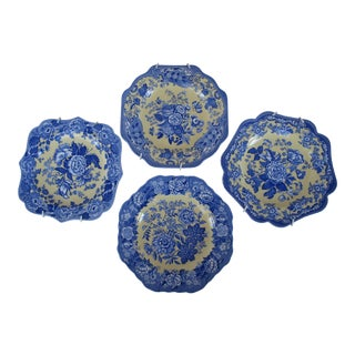 Spode Garden Collection Plates - Set of 4