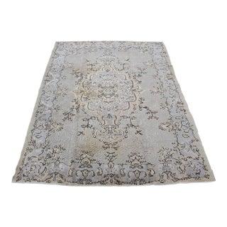 Turkish Overdyed Carpet - 7′4″ × 10′2″