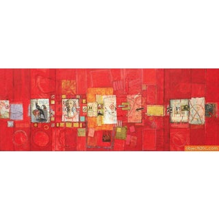 Large Patrick Archer Collage, 96″W