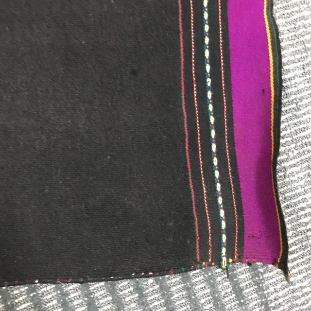 Vintage Bolivian Purple Wall Hanging - Image 4 of 6