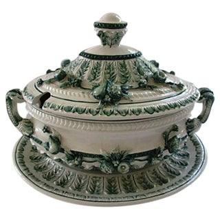 Italian Tureen With Underplate