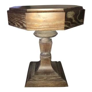 Truex Brown Oak Rook Side Table