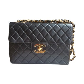 Chanel Jumbo Classic Quilted Lambskin Bag