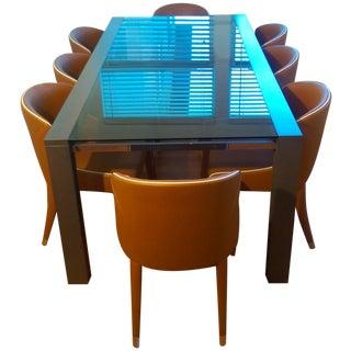 Roche Bobois Glassbox Dining Set