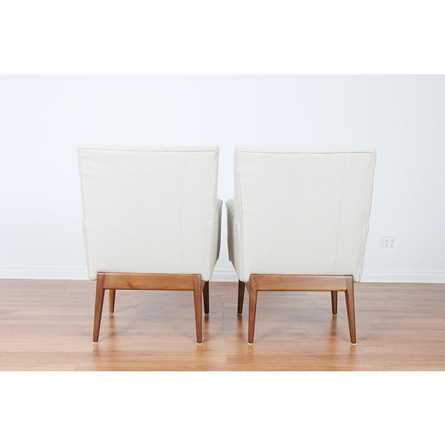 Jens Risom Lounge Chairs - Image 4 of 8