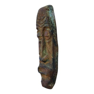 Stone Tiki Head