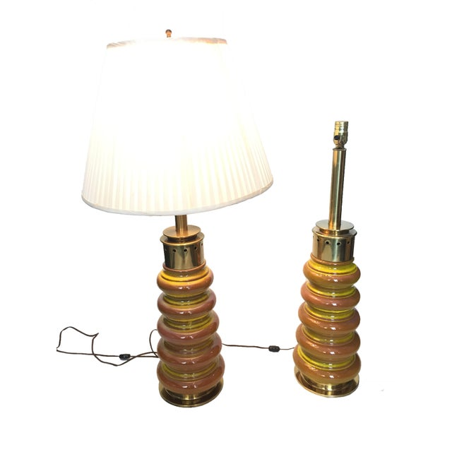Vintage Stiffel Table Lamps - A Pair - Image 2 of 4
