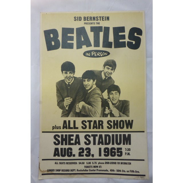 Reproduction Beatles Lobby Card Poster - Image 7 of 7